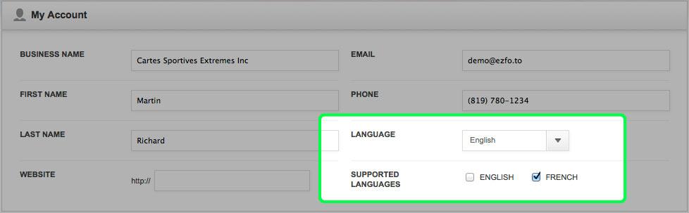 language-control